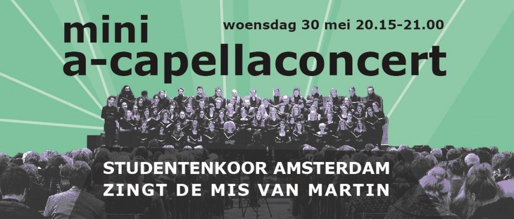 Studentenkoor Amsterdam, de Week van de Begraafplaats