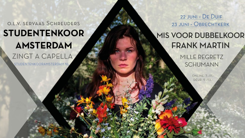 Studentenkoor Amsterdam SKA zingt Frank Martin